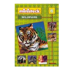 6 Vorlagenheft Mini Stecksystem Wildpark Nr
