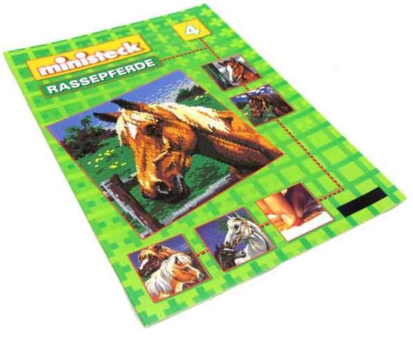 Ministeck voorbeeldboek paarden