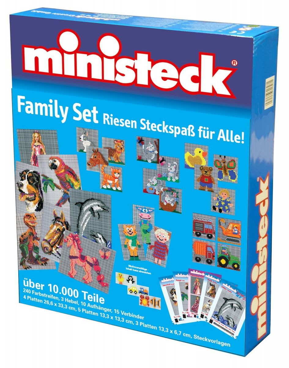 Ministeck MC31425 Ministeck Familiebox (> 10000 delig)