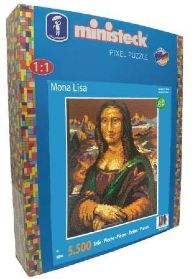 Ministeck Mona Lisa (5500-delig)