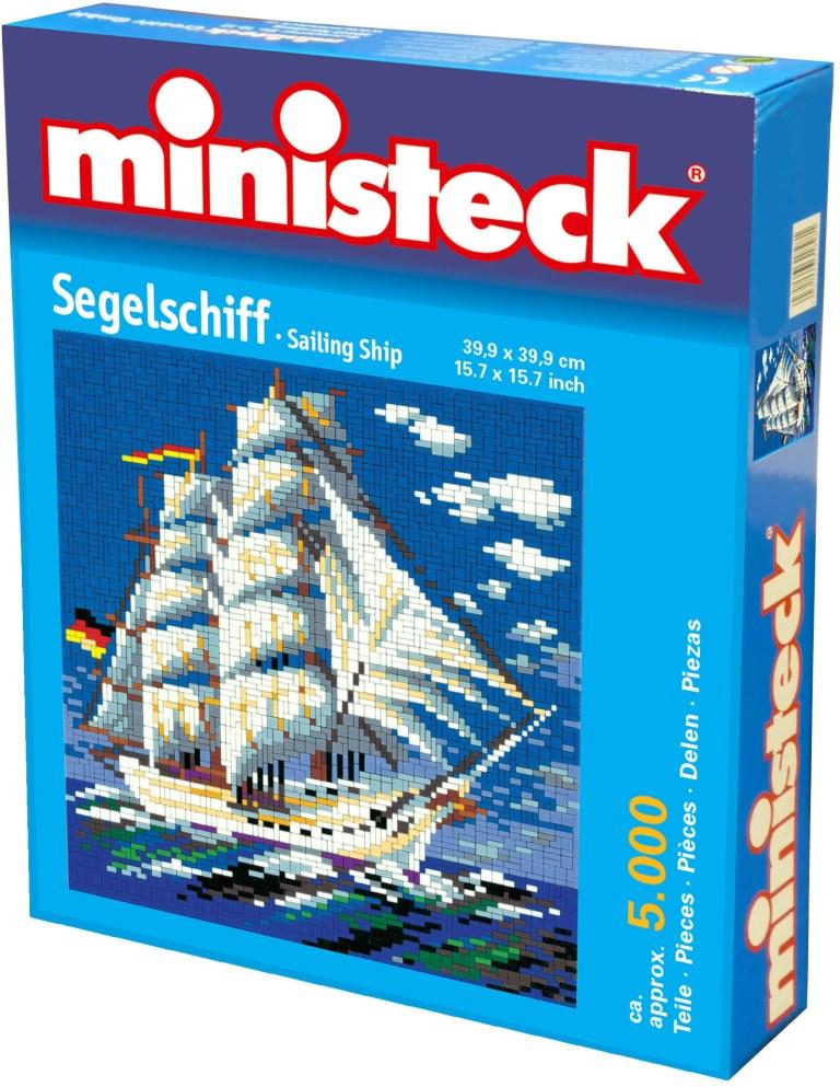 Ministeck zeilschip, ca. 5000 stukjes