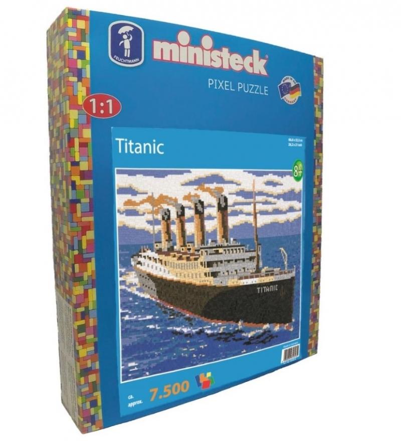 Ministeck Titanic XXL-box (7500-delig)