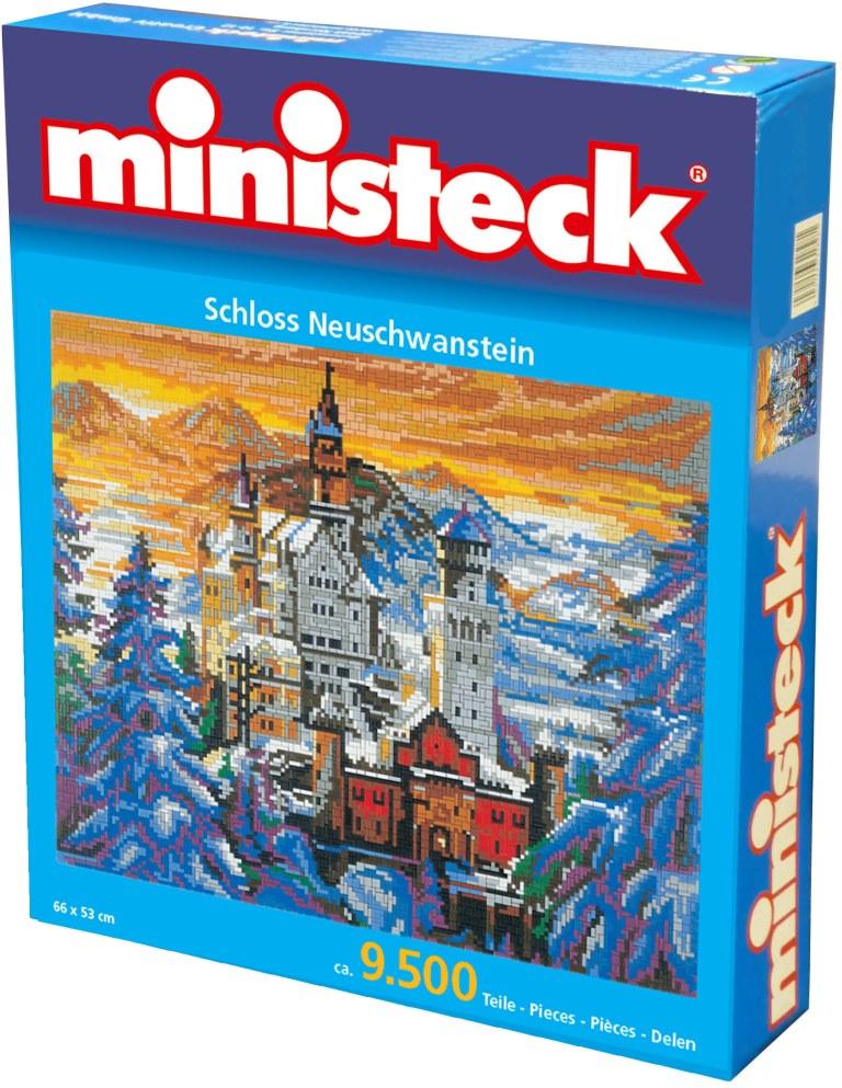 Ministeck Neu Schwanstein, ca. 9.500 stukjes, 66 x 53 cm