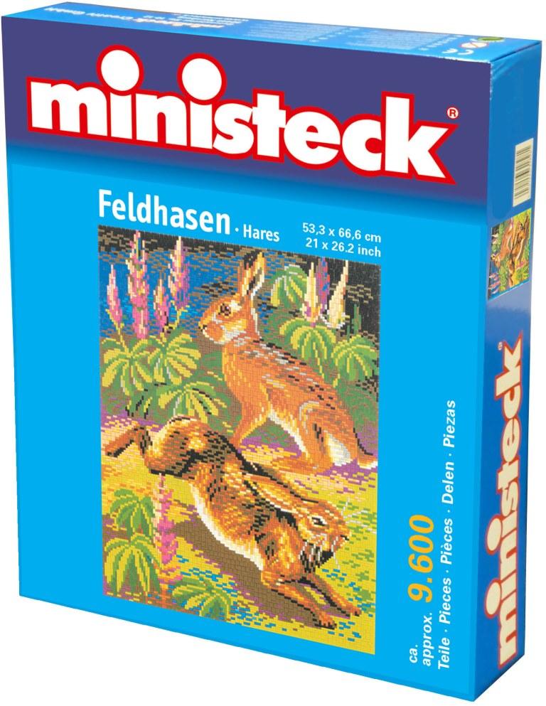 Ministeck Hazen, ca. 9.600 stukjes, 53 x 66 cm