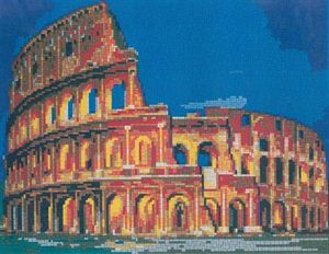 Stickit ministeck-system Colosseum, ca. 8.000 delig