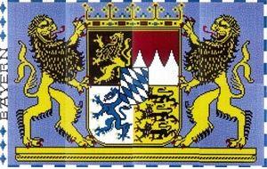 Stickit Wapen van de Beierse staat
